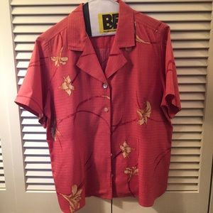 Tommy Bahama women's five button camp shirt